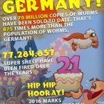 Team 17 release Worms W.M.D. multiplayer trailer and franchise infographic