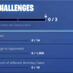 Fortnite celebrates its first birthday on July 24 with an in game event and Birthday themed rewards – Birthday