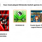 Nintendo Switch Year-In-Review Shows Your Most Played Games And More