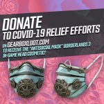Gearbox Offering Borderlands 3 In-Game Mask For COVID-19 Relief Donations